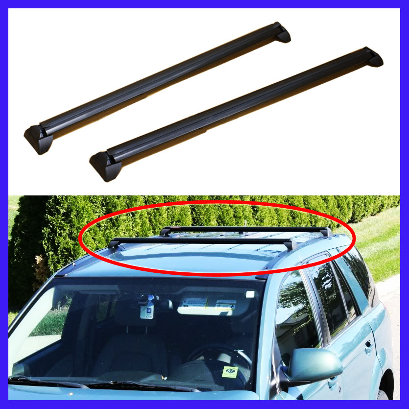 02 07 Saturn Vue Oe Style Roof Rack Cross Bars Set Luggage