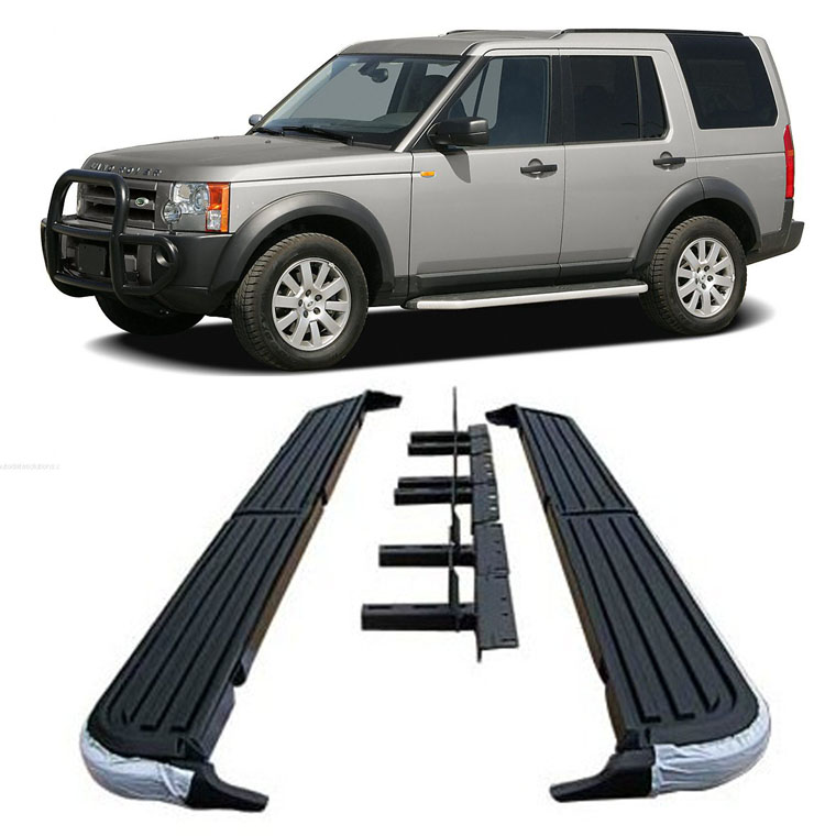 For 05-16 Land Rover LR3 LR4 Discovery-3 Aluminum Running