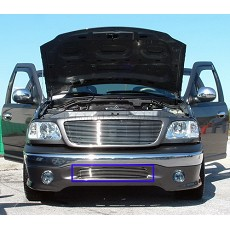 99 00 01 02 FORD EXPEDITION BILLET GRILL BUMPER GRILLE