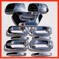 VioCH 02-06 Chevy Avalanche Chrome Mirror Handle Covers