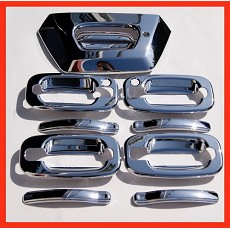 VioCH 02-06 Chevy Avalanche Chrome Door Handle Covers C