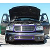 99 00 01 02 FORD EXPEDITION BILLET GRILLE GRILL COMBO