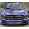 97-04 DODGE DAKOTA DURANGO UPPER GRILL BILLET GRILLE