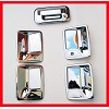 VioCH 10-11 Ford F250 F350 Chrome Door Handle Covers Co