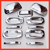 VioCH 00-06 TAHOE GMC YUKON CHROME DOOR HANDLE MIRROR C